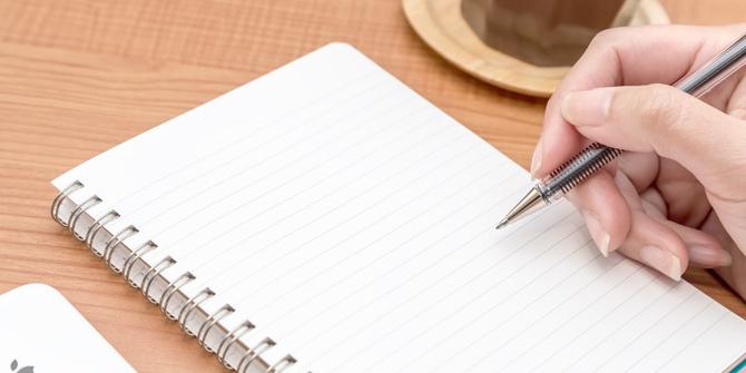 本番で真っ白にならない「原稿の書き方」